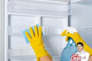 راه های تمیز کردن یخچال و فریزر